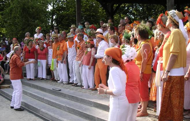 Chorale Polyfolies le 26 juin 2010 à Woluwe-Saint-Lambert